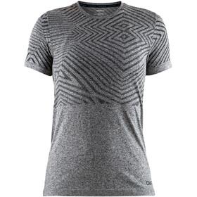 Craft W's Cool Comfort She RN SS Shirt Black Mélange